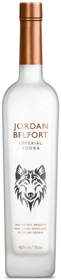 Jordan Belfort Imperial Vodka available for purchase